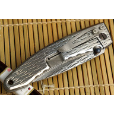 Folding knife Mcusta Large Nami  MC-0112D 8.5cm - 4