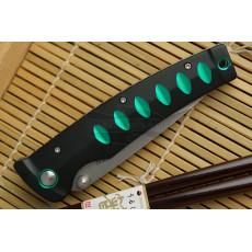 Kääntöveitsi Mcusta Katana Green MC-0044C 8.5cm - 4