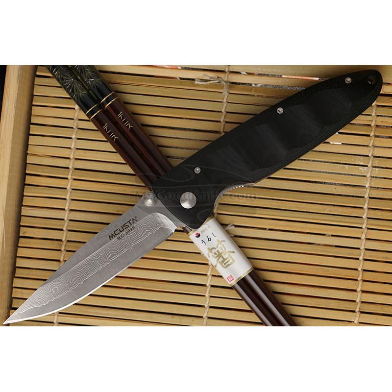 Folding knife Mcusta Basic Damascus  MC-0012D 8.5cm - 1