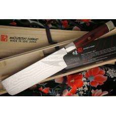 Nakiri Japanese kitchen knife Mcusta Coreless Aranami ZUA-1008C 16.5cm - 2