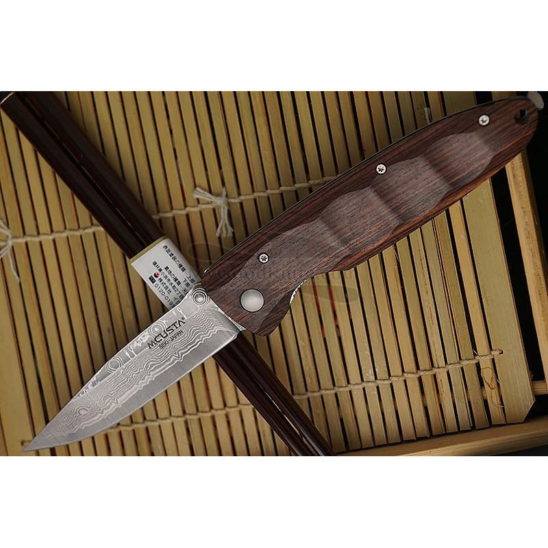 Складной нож Mcusta Classic wave damascus MC-0014DR 8.2см - 1