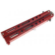 Balisong Benchmark Red Butterfly  BM009 10.5cm - 3