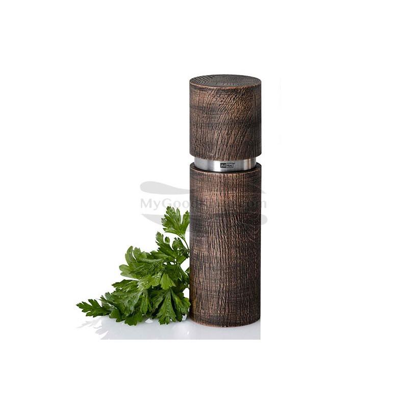 Spice mill AdHoc for Pepper or salt Textura Antique Grande, black  MP28 - 1