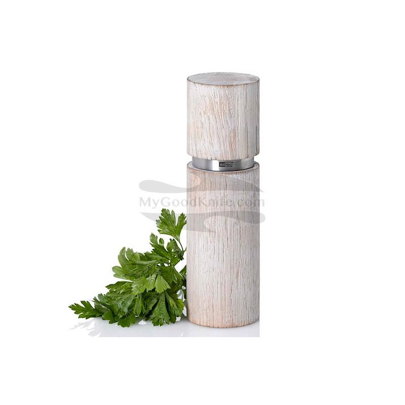 Spice mill AdHoc for Pepper or salt Textura Antique Grande, white MP26 - 1