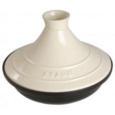 Staub Tajine round 28 cm, Cream  40509-395-0 - 1