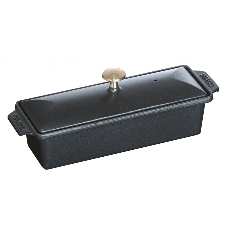 Staub Rectangular Terrine 30x11 cm, Black  40509-575-0 - 1