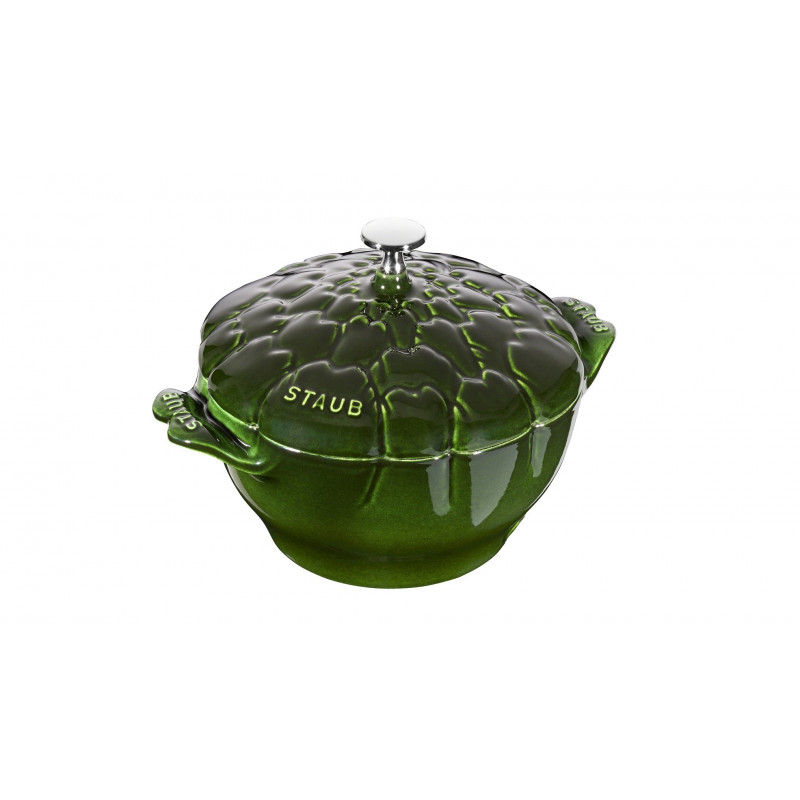 Staub Round Cocotte Artichoke 22 cm, Basil  40501-094-0 - 1