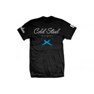 T-shirt Cold Steel Cursive Black Tee XL CSTJ4