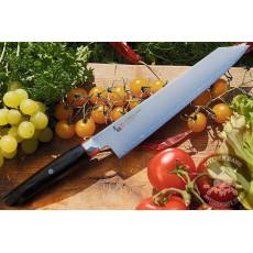 Kiritsuke Japanese kitchen knife Mcusta Zanmai Revolution SPG4 ZRB-1206G 23cm