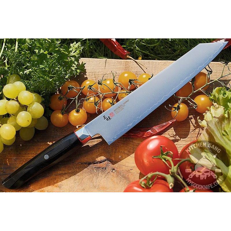Kiritsuke Japanese kitchen knife Mcusta Revolution SPG4 ZRB-1206G 23cm - 1