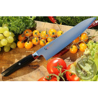 Gyuto Japanese kitchen knife Mcusta Revolution SPG3 ZRB-1205G 21cm