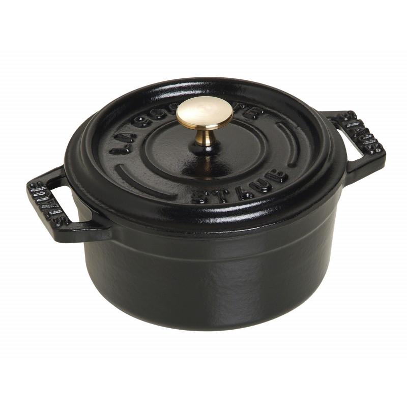 Staub La Cocotte Кокот круглый, 10 см Черный  40500-101-0 - 1