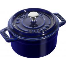 Staub Round Cocotte 10 cm, Dark blue  40510-262-0 - 1