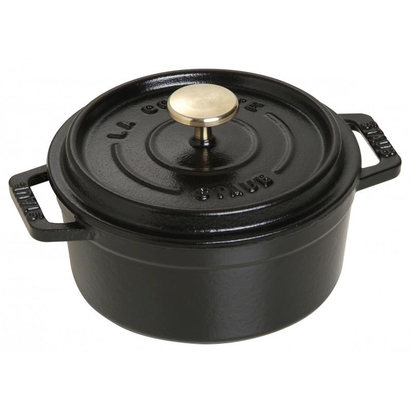 Staub La Cocotte Кокот круглый, 12 см Черный  40509-471-0 - 1