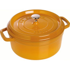 Staub Round Cocotte 18 cm, Mustard 40511-370-0 - 1