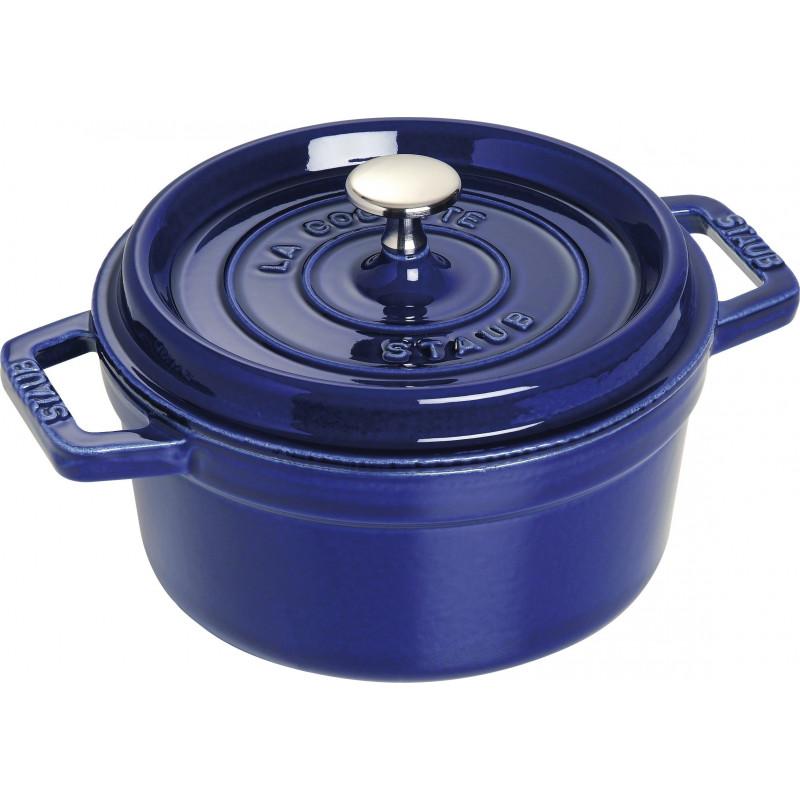 Staub La Cocotte Кокот круглый, 22 см Темно-синий  40510-265-0 - 1