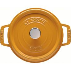 Staub Round Cocotte 22 cm, Mustard  40510-646-0 - 2