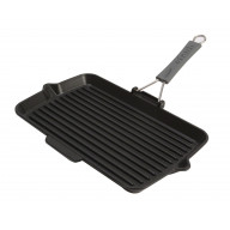 Pan Staub Cast Iron Grill rectangular 34 cm, Black 40509-343-0