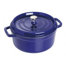 Staub Round Cocotte 24 cm, Dark blue  40510-283-0 - 1