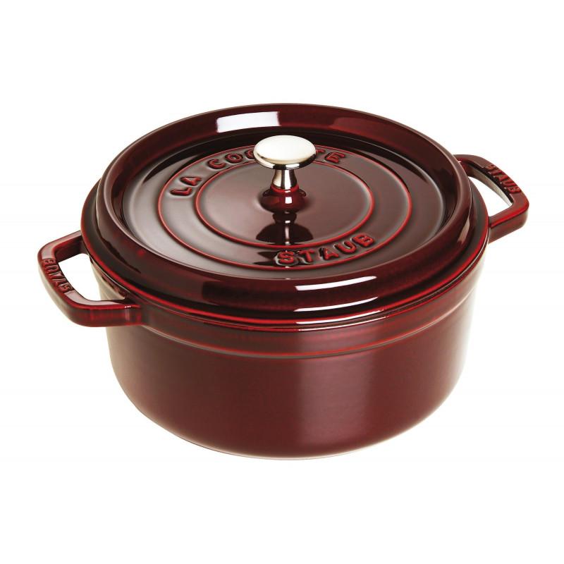 Staub Round Cocotte 24 cm, Grenadine red 40509-357-0 - 1