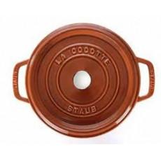 Staub Round Cocotte 24 cm, Cinnamon  40511-296-0 - 2