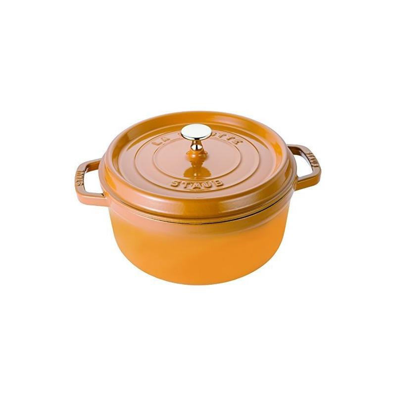 Staub La Cocotte Кокот круглый, 24 см Горчичный  40510-650-0 - 1