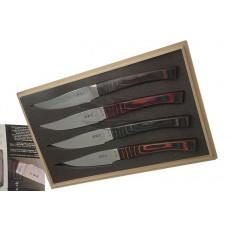 Японский кухонный нож Seki Kanetsugu Nami 4 шт 9204 10см - 3
