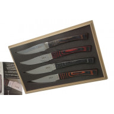 Japanese kitchen knife Seki Kanetsugu Nami 4 pcs  9204 10cm - 3