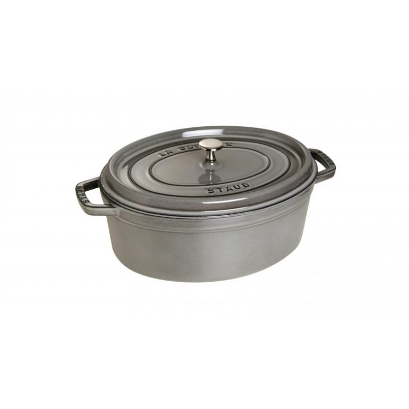 Staub Oval Cocotte 33 cm, Grey  40509-324-0 - 1