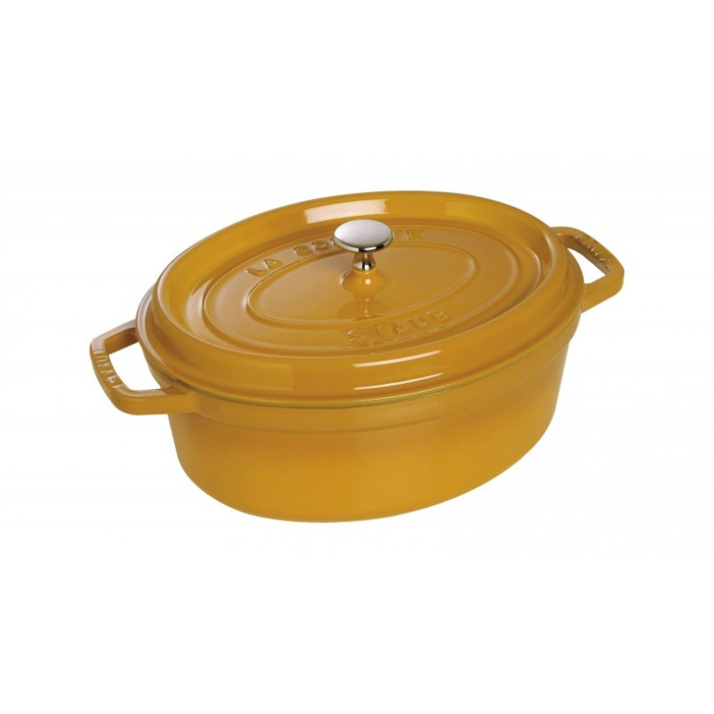 Staub Oval Cocotte 29 cm, mustard  40510-644-0 - 1