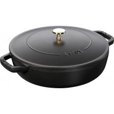 Staub Chistera pan 28 cm, Black  40511-472-0
