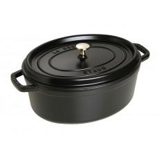 Staub Oval Cocotte 33 cm, Black 40509-322-0