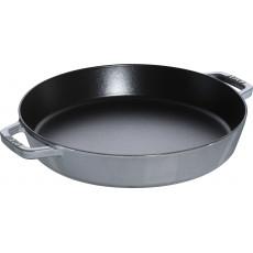 Pan Staub Cast Iron Frying 34 cm, Graphite grey 40511-072-0