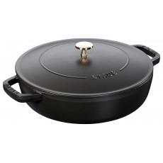 Staub Chistera pan 24 cm, Black  40511-473-0