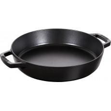 Pan Staub Cast Iron Frying 26 cm, Black 40511-725-0