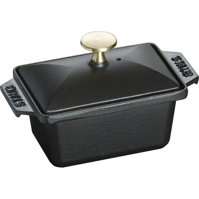 Staub kansineen suorakulmainen 15x11 cm, Musta 40509-571-0 - 1