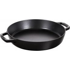 Pan Staub Cast Iron Frying 34 cm, Black 40511-073-0