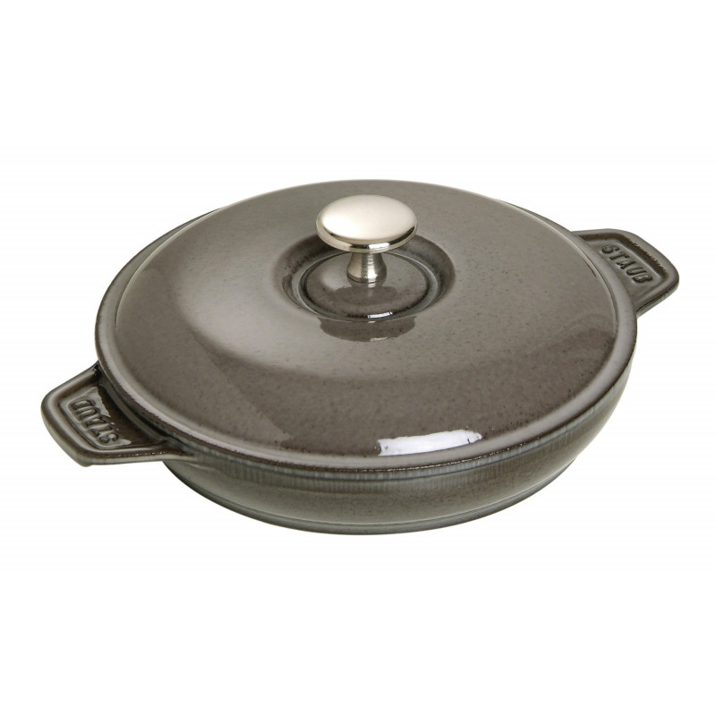 Staub Round Covered 20 cm, Graphite grey 40509-578-0 - 1