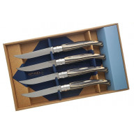 Steak knife Opinel Box of 4, laminated birch ОО1829 10cm