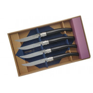 Steak knife Opinel Box of 4, ebony  ОО1827 10cm
