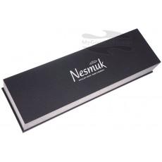 Кухонный нож слайсер Nesmuk SOUL для тонкой нарезки, Морёный дуб S3M1602012 16см - 3