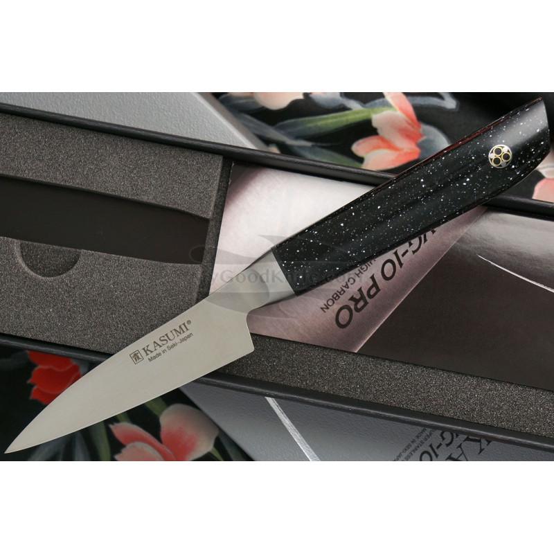 Овощной кухонный нож Kasumi VG10 Pro 52008 8см - 1