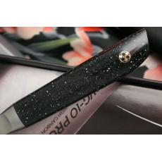 Овощной кухонный нож Kasumi VG10 Pro 52008 8см - 3