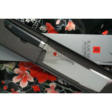 Nakiri Japanese kitchen knife Kasumi VG10 Pro 54017 17cm