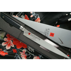 Sujihiki Japanese kitchen knife Kasumi VG10 Pro 56024 24cm