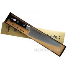 Японский кухонный нож Гьюто Tojiro DP Cobalt Alloy F-807 18см - 3