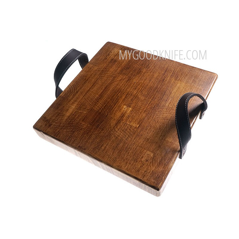 Разделочная доска etúHOME Heritage Square Cross Cut Serving Board REY602ES6 - 1