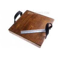 Разделочная доска etúHOME Heritage Square Cross Cut Serving Board REY602ES6 - 3