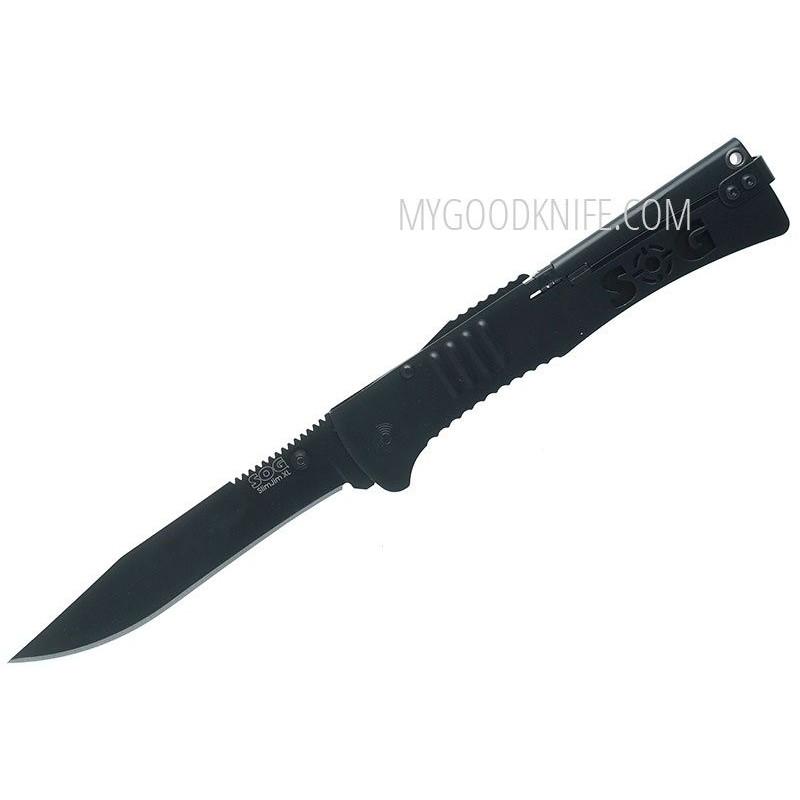 Kääntöveitsi SOG Slim Jim XL A/O Black 729857997119 10.6cm - 1