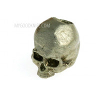 Abalorio Small Skull, nickel silver sk2ns